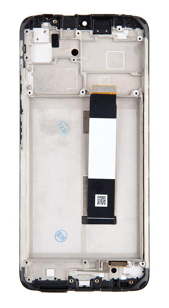 LCD + dotyk + přední kryt pro Xiaomi Redmi 9T, carbon grey