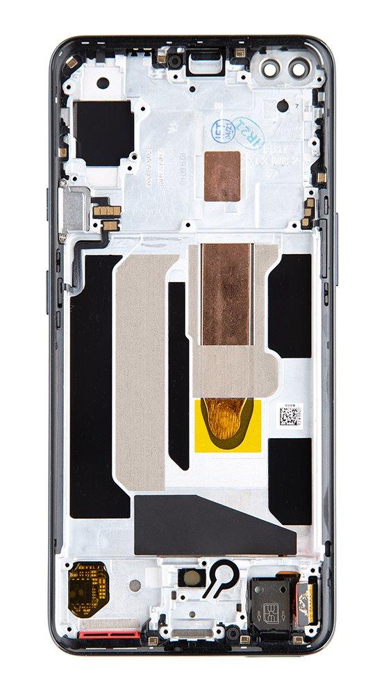 LCD + dotyk + přední kryt pro OnePlus Nord, grey onyx