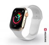 Silikonový řemínek pro Apple Watch 38-40mm, bílá