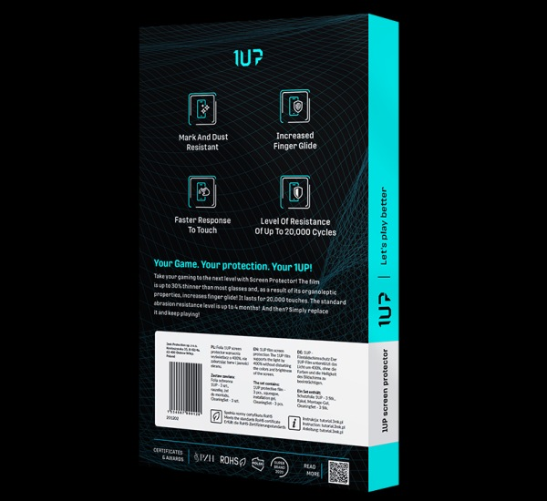 Ochranná fólie 3mk 1UP pro Apple iPhone 12 Pro Max (3ks)