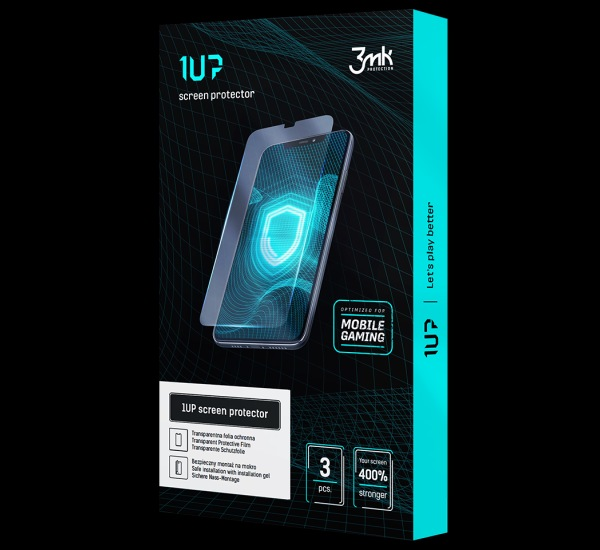 Ochranná fólie 3mk 1UP pro Apple iPhone 11 Pro Max (3ks)