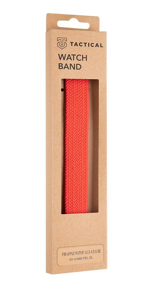 Pletený řemínek Tactical 788 XL, Watch 42mm/44mm, červená