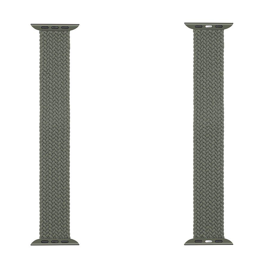 Pletený řemínek Tactical 786 XL,Watch 42mm/44mm, zelená