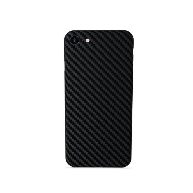Silikonové TPU pouzdro Epico Carbon pro Apple iPhone 7/8/SE 2020 černý
