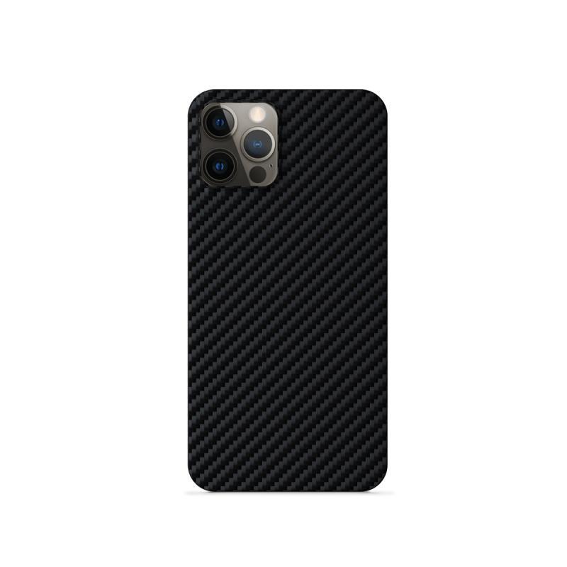 Silikonové TPU pouzdro Epico Carbon pro Apple iPhone 12 Pro Max, černá