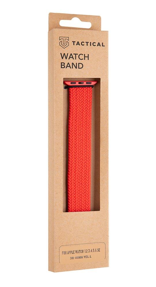 Pletený řemínek Tactical 753 L, Apple Watch 38mm/40mm, červená