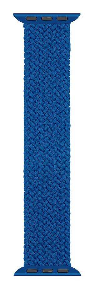 Pletený řemínek Tactical 750, L Apple Watch 38mm/40mm, modrá