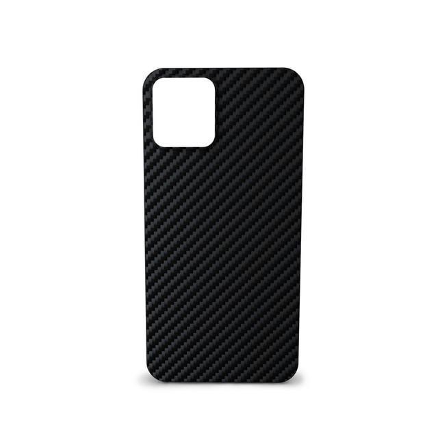 Silikonové TPU pouzdro Epico Carbon pro Apple iPhone 12 mini, černá