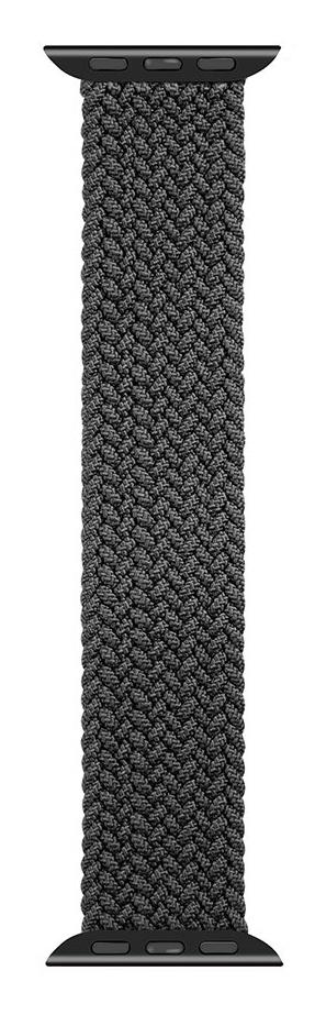 Pletený řemínek Tactical 774 M, Apple Watch 42mm/44mm, černá