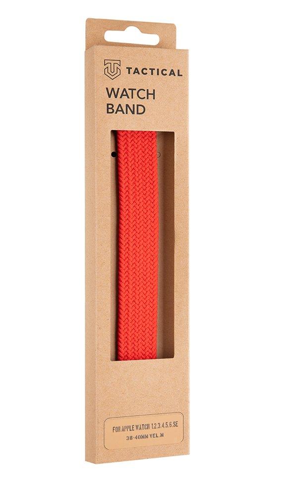 Pletený řemínek Tactical 758, Watch 38mm/40mm, červená