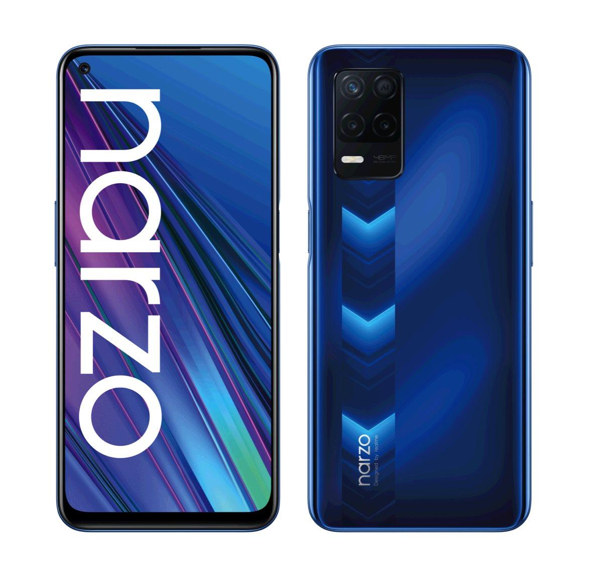 Realme Narzo 30 5G DualSIM 4+128GB gsm tel. Racing Blue