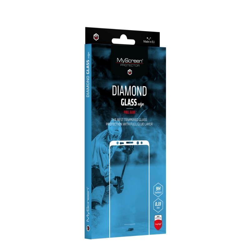 Ochranné sklo MyScreen Diamond Glass Edge FullGlue pro Xiaomi Redmi 9T/Poco M3, černá