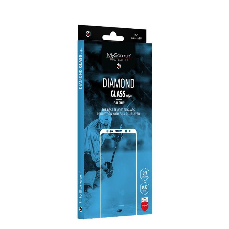 Ochranné sklo MyScreen Diamond Glass Edge FullGlue pro Samsung Galaxy A12, černá