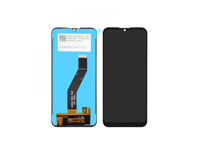 LCD + dotyková deska pro Motorola E6s, black (OEM)