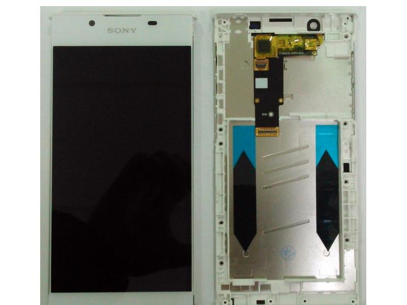LCD + dotyk + rámeček pro Sony Xperia L1, white (OEM)