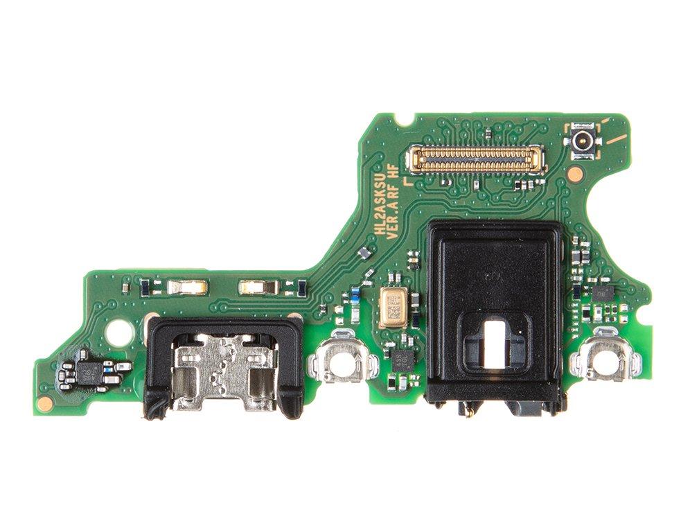 Huawei P40 Lite E Nabíjecí Konektor + Mikrofon (Service Pack)