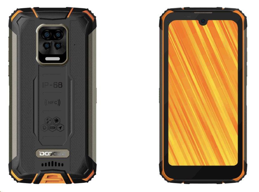 Doogee S59 DualSIM gsm tel. 4+64 Orange