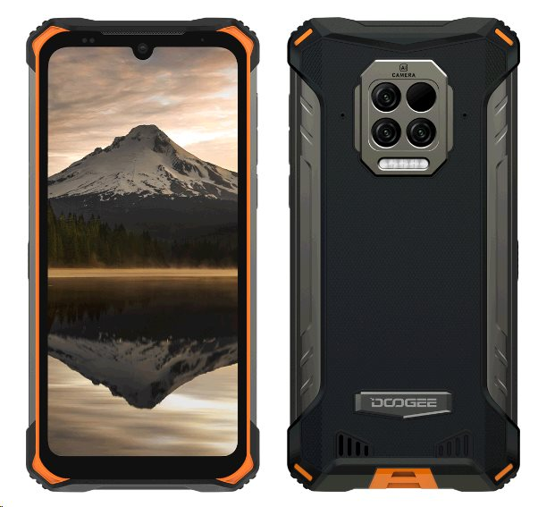 Doogee S86 Pro 8GB/128GB oranžová