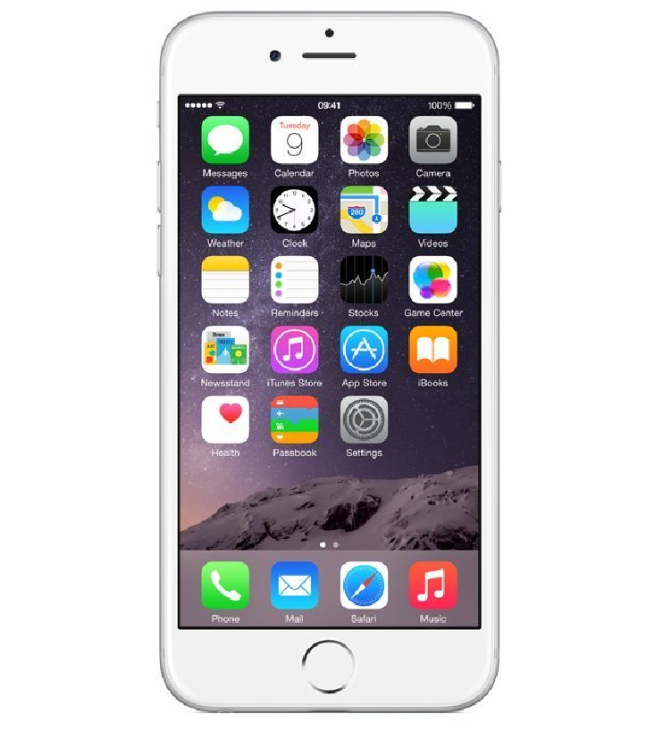 Apple iPhone 6s 128GB bílá, použitý / bazar