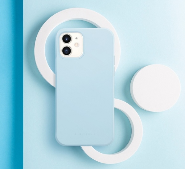 Zadní kryt Roar Space pro Apple iPhone 13 Pro Max, světle modrá