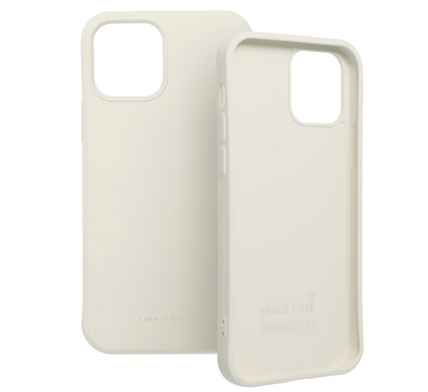 Zadní kryt Roar Space pro Apple iPhone 13 Pro, krémová