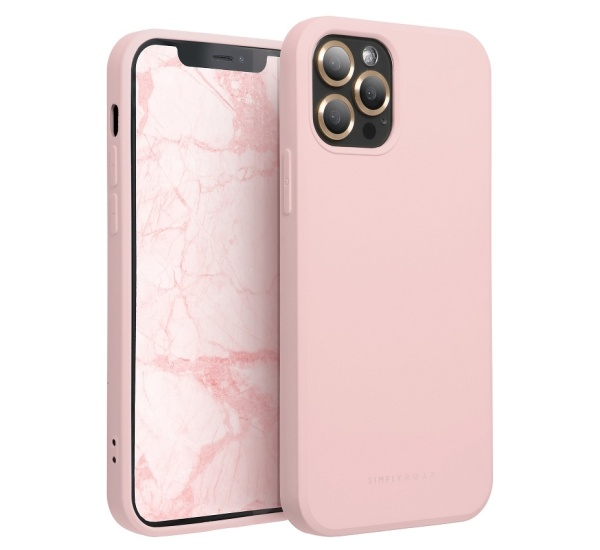 Zadní kryt Roar Space pro Apple iPhone 13 mini, růžová