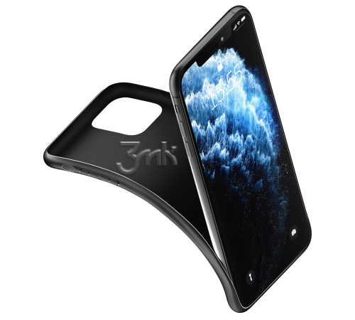 Ochranný kryt 3mk Matt Case pro Realme 7 5G, černá