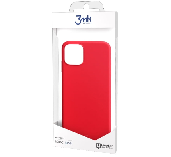 Ochranný kryt 3mk Matt Case pro Apple iPhone 13 Pro, červená