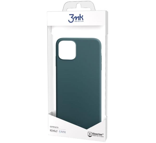 Ochranný kryt 3mk Matt Case pro Apple iPhone 13, tmavě zelená