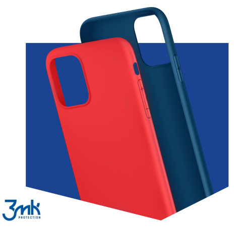 Ochranný kryt 3mk Matt Case pro Apple iPhone 13 mini, modrá