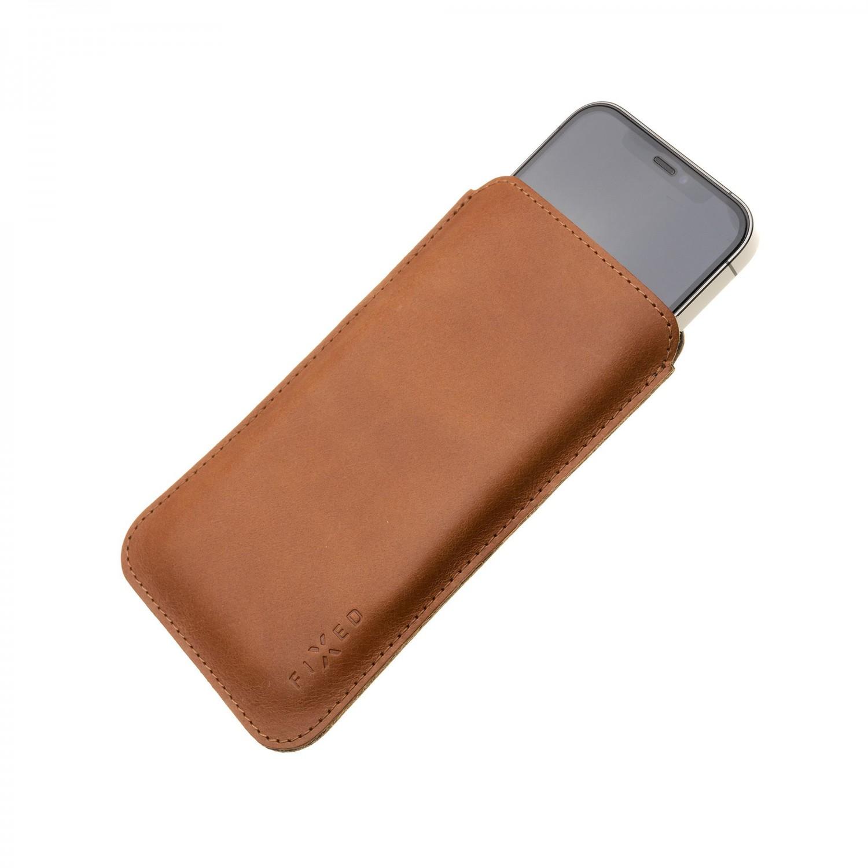 FIXED Slim pouzdro pro Apple iPhone 12 Pro Max, hnědá