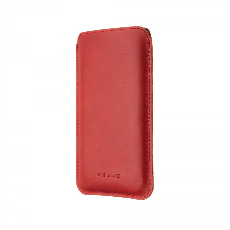 FIXED Slim pouzdro pro Apple iPhone 12 Pro Max, červená