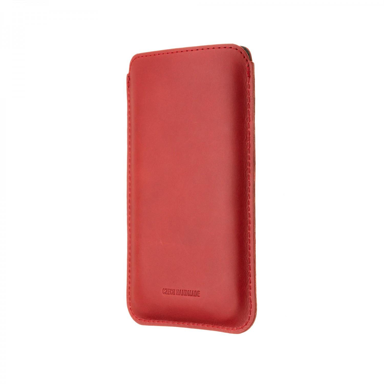 FIXED Slim pouzdro pro Apple iPhone 12/12 Pro, červená