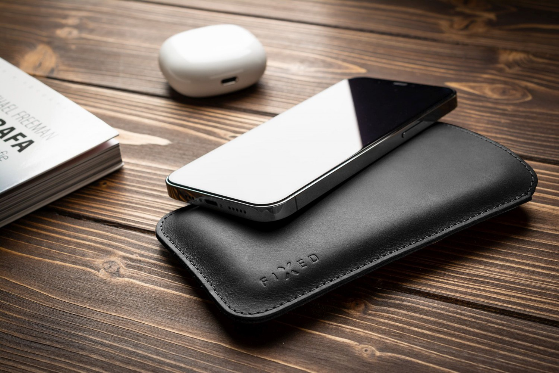 FIXED Slim pouzdro pro Apple iPhone 12 Pro Max, černá