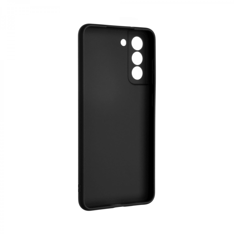 Zadní pogumovaný kryt FIXED Story pro Samsung Galaxy S21 FE, černá