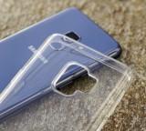 Silikonové pouzdro 3mk Clear Case pro Samsung Galaxy A22, čirá