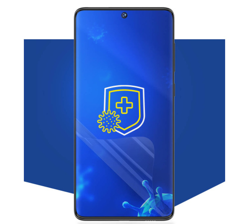 Ochranná antimikrobiální 3mk fólie SilverProtection+ pro Xiaomi Mi 11 Lite, antimikrobiální