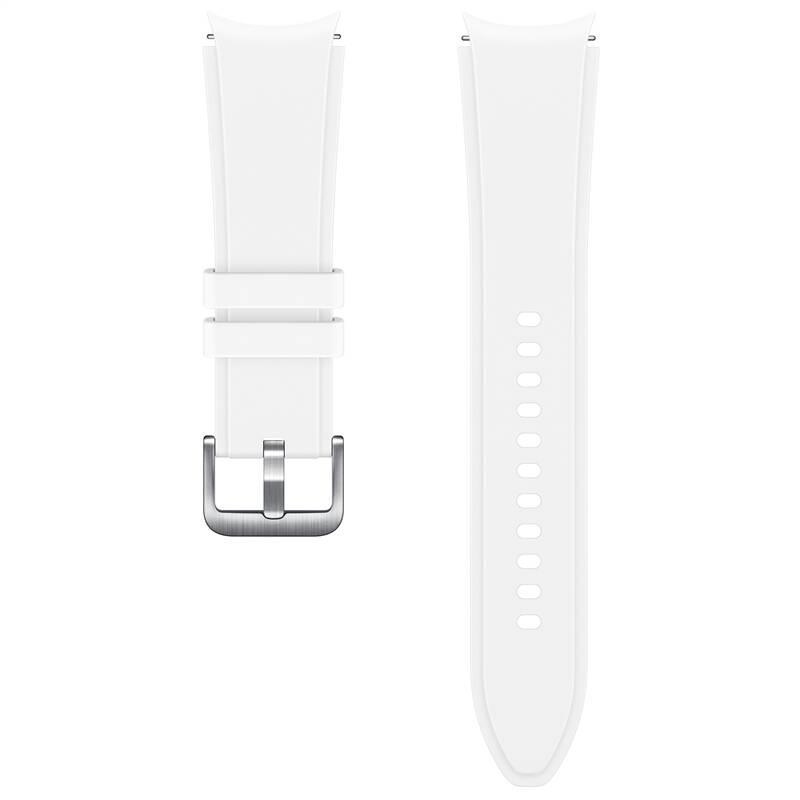 Sportovní řemínek s rýhováním Samsung ET-SFR89LWEGEU, velikost M/L 20mm, bílá