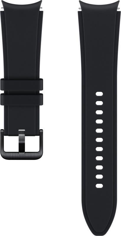 Sportovní řemínek s rýhováním Samsung ET-SFR89LBEGEU, velikost M/L 20mm, černá