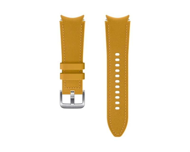 Hybridní kožený řemínek Samsung ET-SHR88SYEGEU, velikost S/M 20mm, oranžová