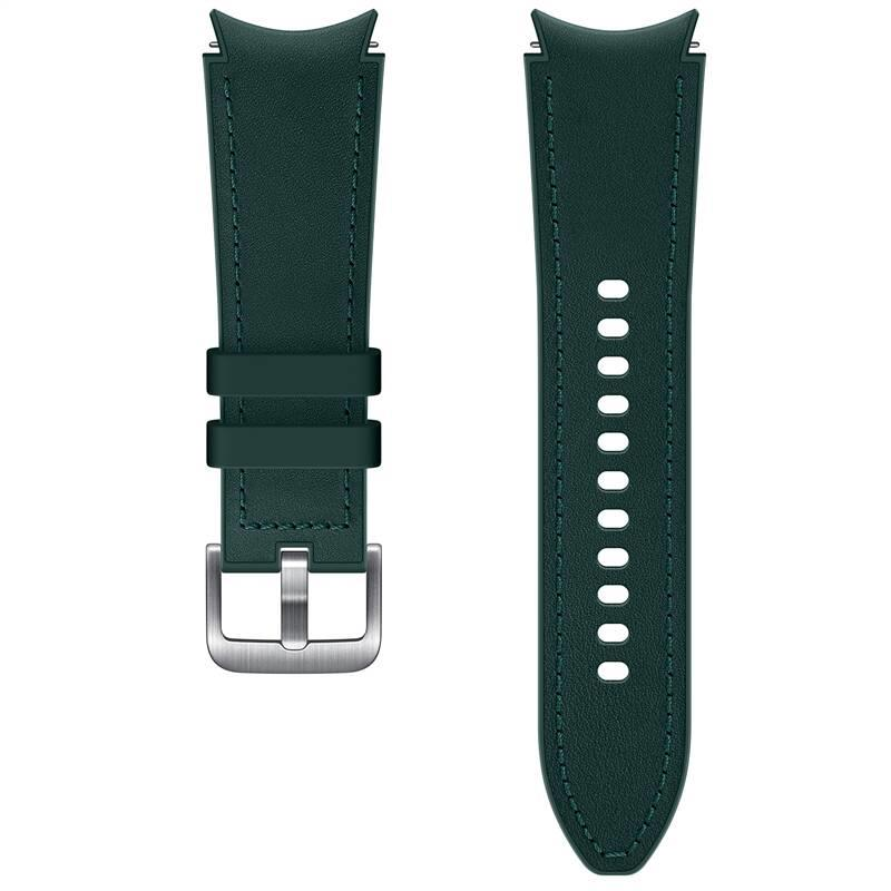 Hybridní kožený řemínek Samsung ET-SHR88SGEGEU, velikost S/M 20mm, zelená