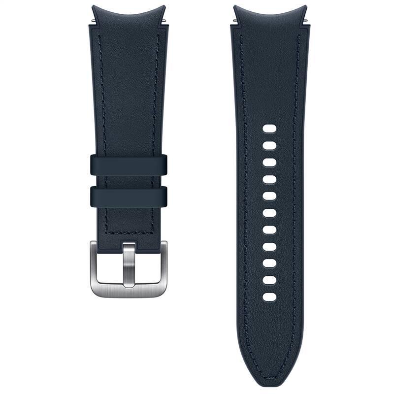Hybridní kožený řemínek Samsung ET-SHR88SNEGEU, velikost S/M 20mm, modrá