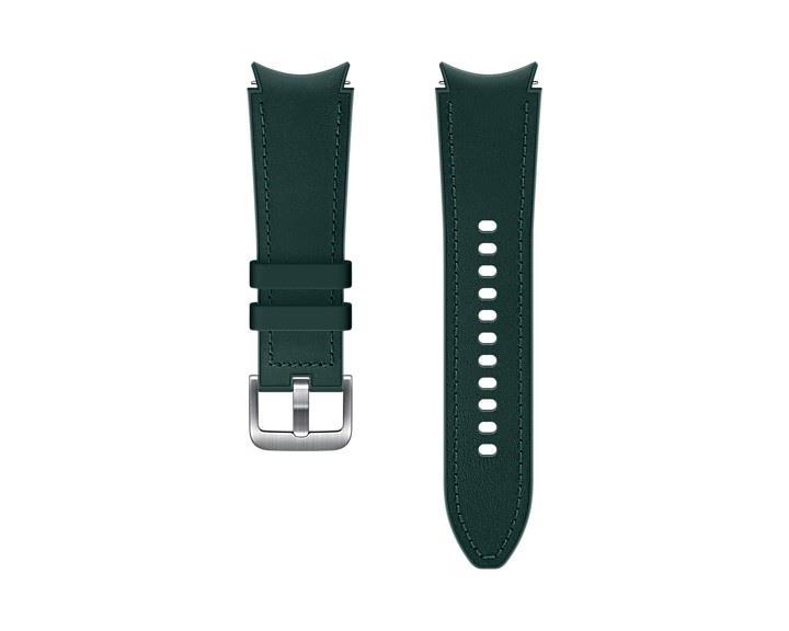 Hybridní kožený řemínek Samsung ET-SHR89LGEGEU, velikost M/L 20mm, zelená