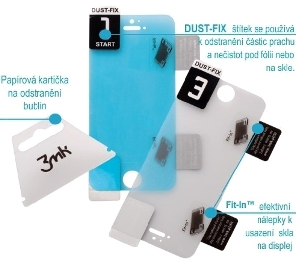 Hybridní sklo 3mk FlexibleGlass pro Apple iPhone 13