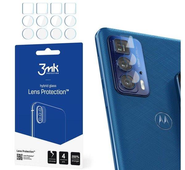 Hybridní sklo 3mk Lens ochrana kamery pro Motorola Edge 20 Pro (4ks)