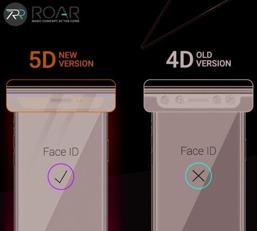 Tvrzené sklo Roar 5D pro Apple iPhone 13 Pro Max, černá