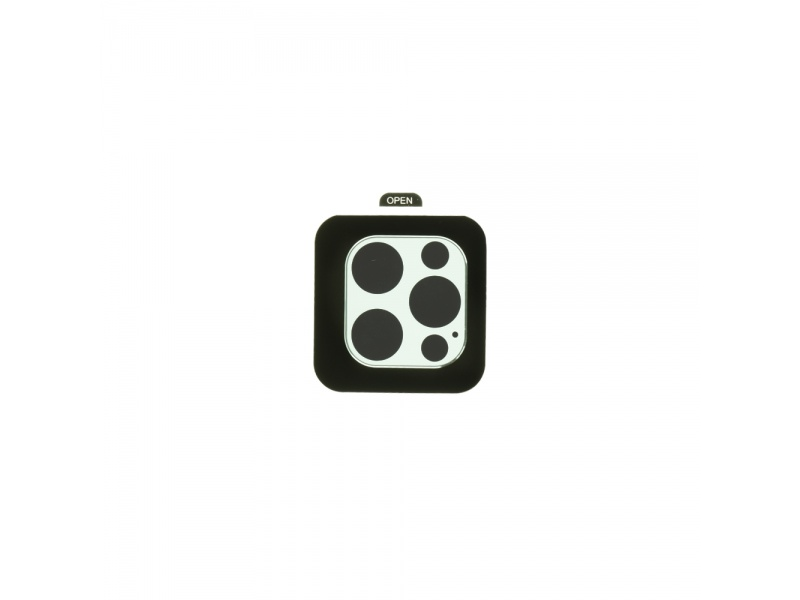 Tvrzené sklo COTEetCI Metal Corning pro Apple iPhone 12 Pro, stříbrná