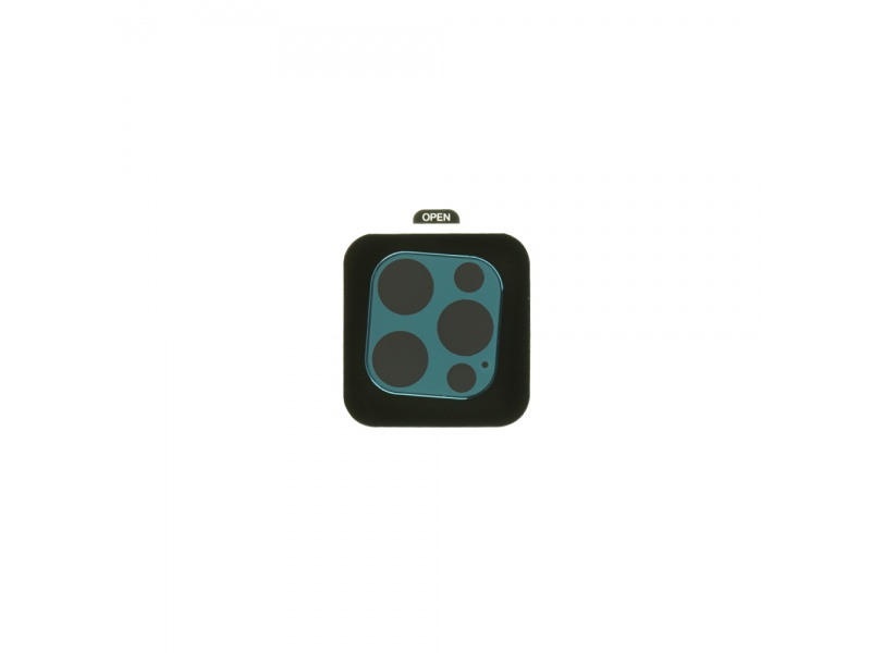 Tvrzené sklo COTEetCI Metal Corning Apple iPhone 12 Pro, modrá