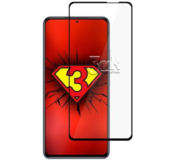 Hybridní sklo 3mk NeoGlass pro Xiaomi Redmi Note 10 Pro, černá