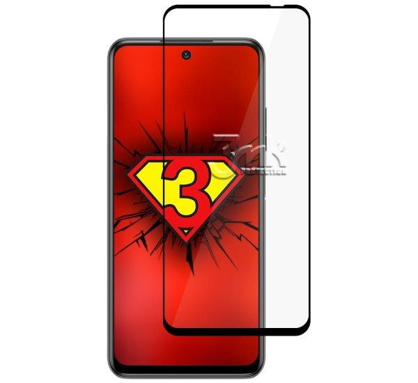 Hybridní sklo 3mk NeoGlass pro Xiaomi Redmi Note 10 5G, černá